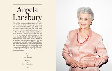 Angela Lansbury at Angela Lansbury Featured on the Cover of THE GENTLEWOMAN Magazine