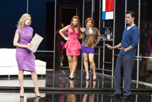 Monette Magrath, Erin Cardillo, Megan Sikora and Matt Walton at Sneak Peek at Hal Linden, Tim Bagley and More in Pasadena Playhouse's UNDER MY SKIN