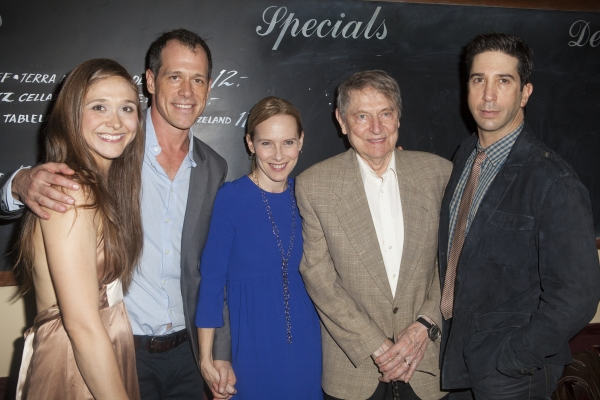 Sarah Sokolovic, Darren Pettie, Amy Ryan, John Cullum and David Schwimmer