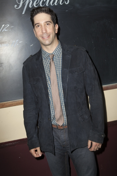 David Schwimmer at Inside Opening Night of DETROIT with David Schwimmer, Amy Ryan, and More!