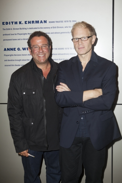 Michael Greif and Jonathan Fried at Inside Opening Night of DETROIT with David Schwimmer, Amy Ryan, and More!