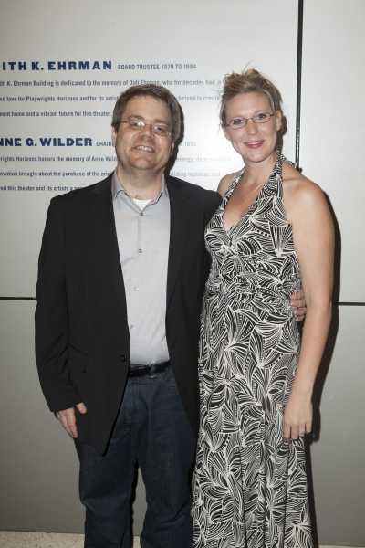 Kent Nicholson and Cassie Beck at Inside Opening Night of DETROIT with David Schwimmer, Amy Ryan, and More!