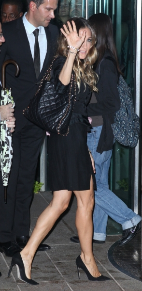 Sarah Jessica Parker at Alan Cumming, Susan Lucci, and More Gather for Marvin Hamlisch Memorial - Arrivals