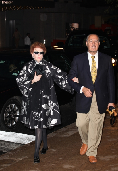 Arlene Dahl & Husband Marc Rosen at Alan Cumming, Susan Lucci, and More Gather for Marvin Hamlisch Memorial - Arrivals