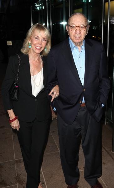 Elaine Joyce & Neil Simon at Alan Cumming, Susan Lucci, and More Gather for Marvin Hamlisch Memorial - Arrivals