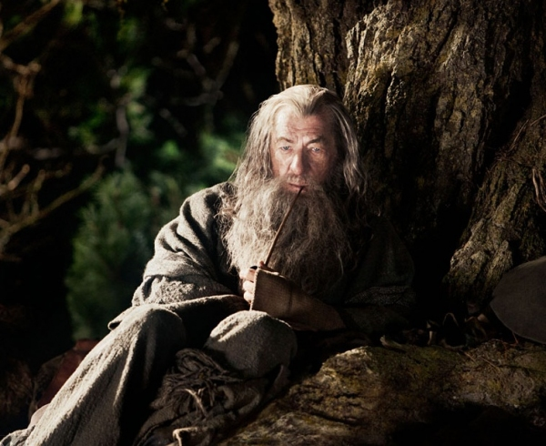 Ian McKellen at THE HOBBIT's Ian McKellen Celebrates 'Tolkien Week'