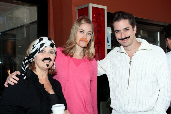 Photo Coverage: Matthew Saldivar, Dave Barry and PETER AND THE STARCATCHER Fans Celebrate Stache Day!