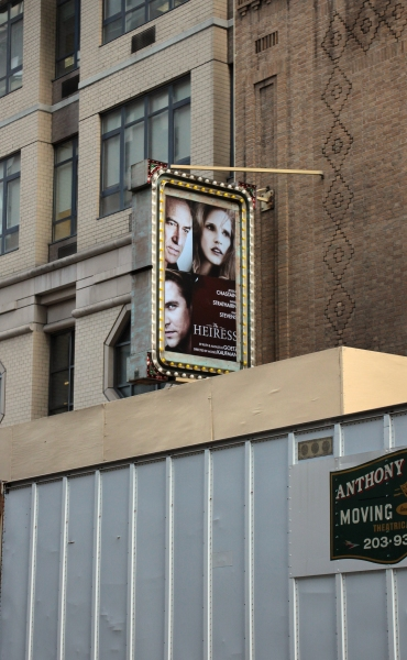 Up on the Marquee: THE HEIRESS!