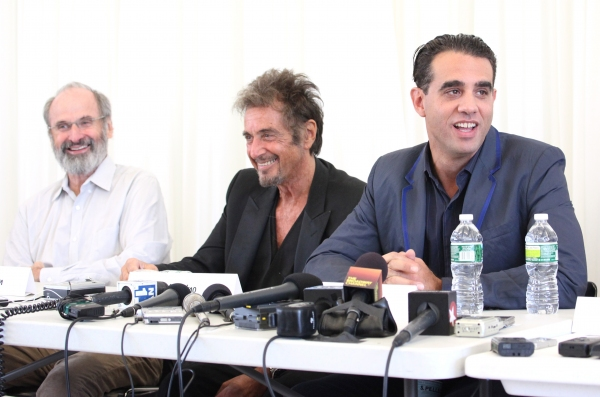 Daniel Sullivan, Al Pacino & Bobby Cannavale attending the 'Glengarry Glen Ross' Media Day at Ballet Hispanico Rehearsal Studios in New York City on 9/19/2012  at Meet The Cast of GLENGARRY GLEN ROSS- Al Pacino, Bobby Cannavale and More!