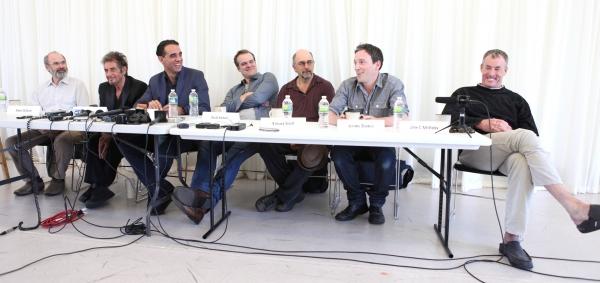 Director Daniel Sullivan, Al Pacino, Bobby Cannavale, David Harbour, Richard Schiff, Jeremy Shamos & John C. McGinley