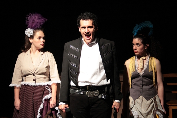 Abby Gillan, Eric Olson (Andrew Jackson) and Phebe Taylor