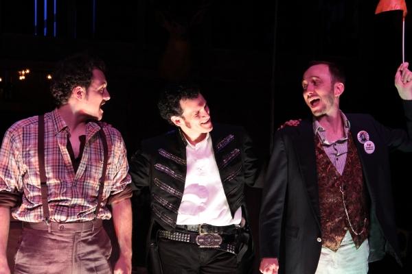 Photo Flash: Eric Olson Stars in BLOODY BLOODY ANDREW JACKSON at Phoenix Theatre