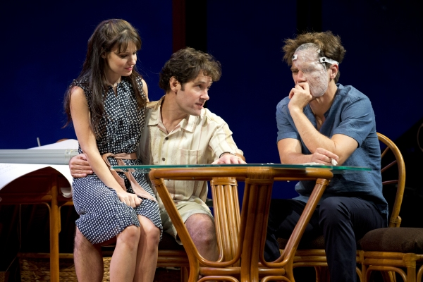 Photo Flash: First Look at Paul Rudd, Kate Arrington, Ed Asner and Michael Shannon in Broadway's GRACE!