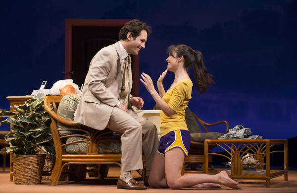 Paul Rudd and Kate Arrington