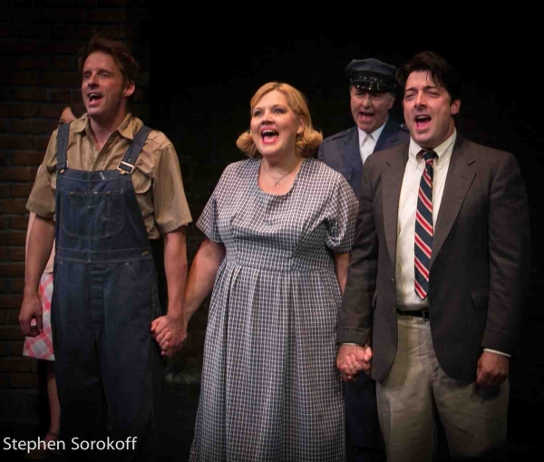 Doug Major, Christine Greene, Benjamin Ashley at BLOOD BROTHERS Opens at West Springfield's Majestic Theater