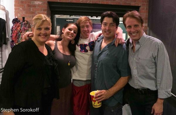 Christine Greene, Danielle Connor Saulmon, Tyler Morrill, Benjamin Ashley, Doug Major Photo