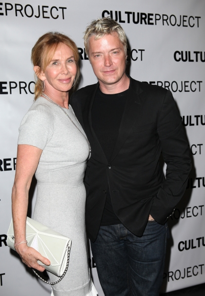 Trudie Styler & Chris Botti  at THE EXONERATED Opening After Party- Stockard Channing, Brian Dennehy, and More!