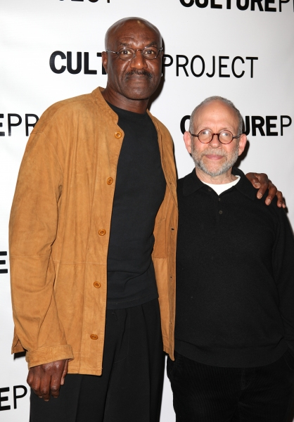 Delroy Lindo & Bob Balaban  at THE EXONERATED Opening After Party- Stockard Channing, Brian Dennehy, and More!
