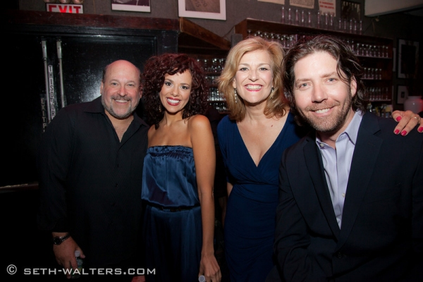 Photo Flash: Janet Dacal, James Barbour and Karen Mason Join Frank Wildhorn for FRANK & FRIENDS at Birdland