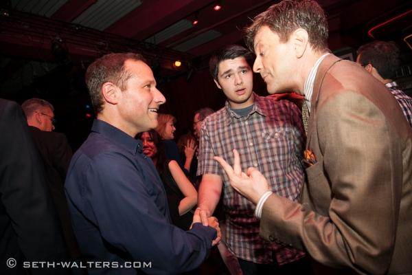 Jim Brickman, Tony Ponella and Jim Caruso