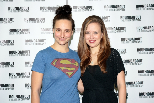 Tracee Chimo, Molly Ranson at Meet the Cast of Roundabout's BAD JEWS!