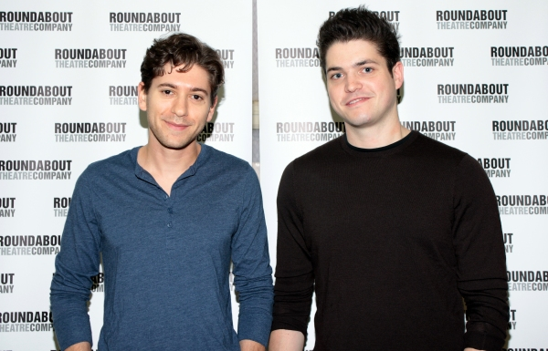 Michael Zegen, Philip Ettinger at Meet the Cast of Roundabout's BAD JEWS!