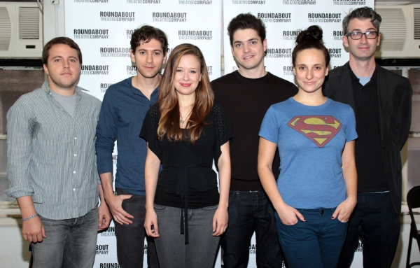 Joshua Elias Harmon, Michael Zegen, Molly Ranson, Philip Ettinger, Tracee Chimo, Daniel Aukin at Meet the Cast of Roundabout's BAD JEWS!