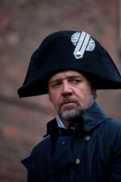 Russell Crowe at Check Out the Latest LES MISERABLES Film Stills Featuring Anne Hathaway, Samantha Barks and More!