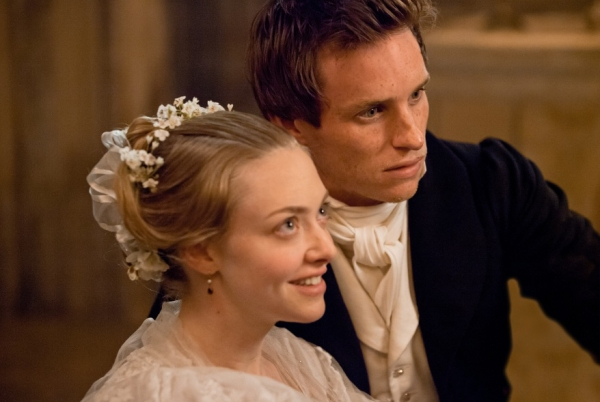 Amanda Seyfried and Eddie Redmayne at Check Out the Latest LES MISERABLES Film Stills Featuring Anne Hathaway, Samantha Barks and More!