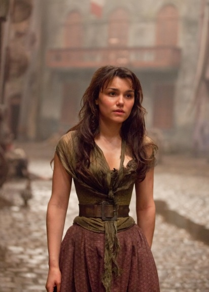 Samantha Barks at Check Out the Latest LES MISERABLES Film Stills Featuring Anne Hathaway, Samantha Barks and More!