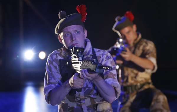 Photo Flash: First Look at Shakespeare Theatre Company's BLACK WATCH