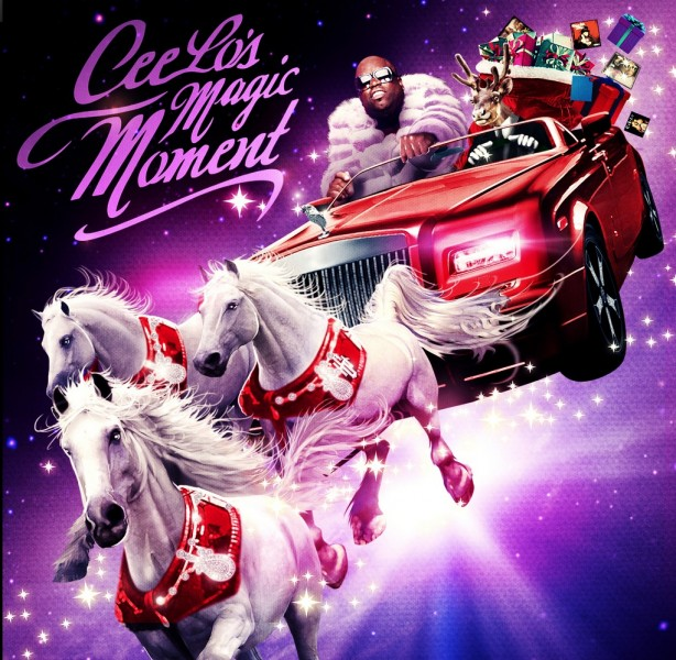 CeeLo Green Holiday Album Gets a Title - CEELO'S MAGIC MOMENT; To Feature Muppets, Aguilera, Stewart & More