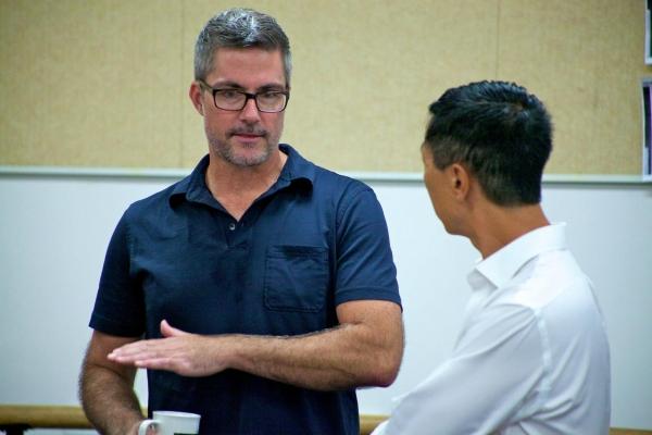 Bob Gaynor with Musical Director Boko Suzuki Photo