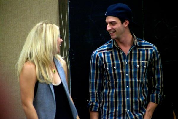 Caroline Freedlund and Jordan Craig