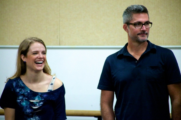 Photo Flash: First Look at Bob Gaynor, Cary Tedder and More in Rehearsals for Alliance Theatre's NEXT TO NORMAL