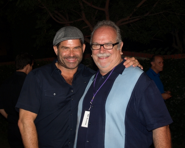 Matt Zarley and Ron Ngoswick at Anneliese van Der Pol, Arielle Jacobs, Danny Gurwin & More at BROADWAY COMES TO ANAHEIM