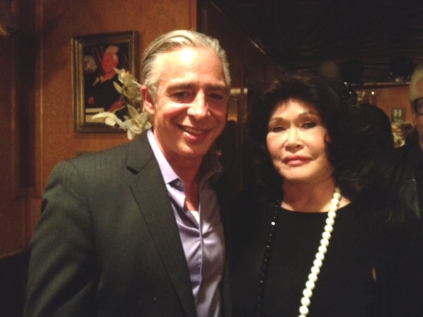 Photo Flash: Anthony Skordi, Connie Stevens, Romi Dames and More at ONASSIS Opening