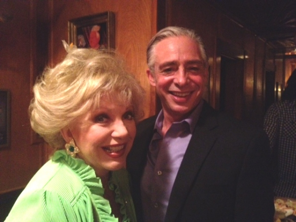 Anthony Skordi with Ruta Lee at Anthony Skordi, Connie Stevens, Romi Dames and More at ONASSIS Opening