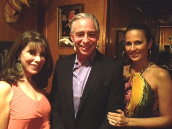 Kate Linder, Anthony Skordi and Patricia Kara at Anthony Skordi, Connie Stevens, Romi Dames and More at ONASSIS Opening