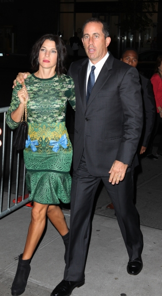Jessica Seinfeld & Jerry Seinfeld  at  IF THERE IS I HAVEN'T FOUND IT YET - Red Carpet Arrivals