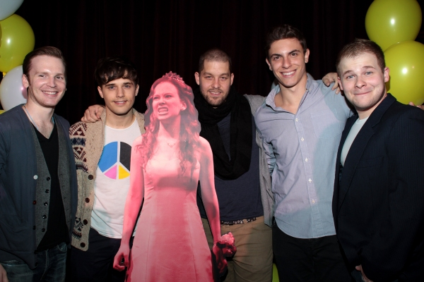 Corey Boardman, Andy Mientus, Ben Thompson, Derek Klena, F. Michael Haynie at Molly Ranson, Marin Mazzie, and More at CARRIE Cast Album Listening Party!
