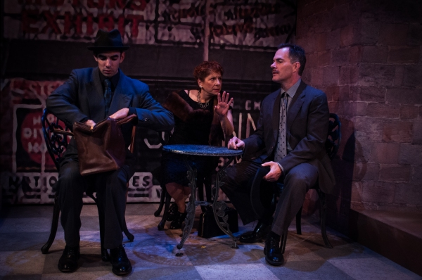 Photo Flash: First Look at Bobbie Steinbach, Craig Mathers and More in Centerstage's THE FAKUS - A NOIR