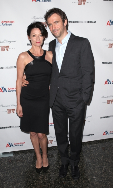 Michelle Gomez & Jack Davenport  at Inside the IF THERE IS I HAVEN'T FOUND IT YET After Party with Jake Gyllenhaal and More!