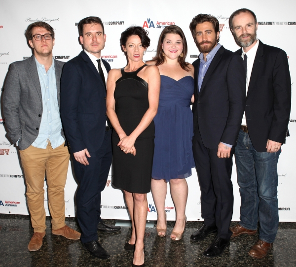Nick Payne, Michael Longhurst, Michelle Gomez, Annie Funke, Jake Gyllenhaal and Brian F. O'Byrne  at Inside the IF THERE IS I HAVEN'T FOUND IT YET After Party with Jake Gyllenhaal and More!