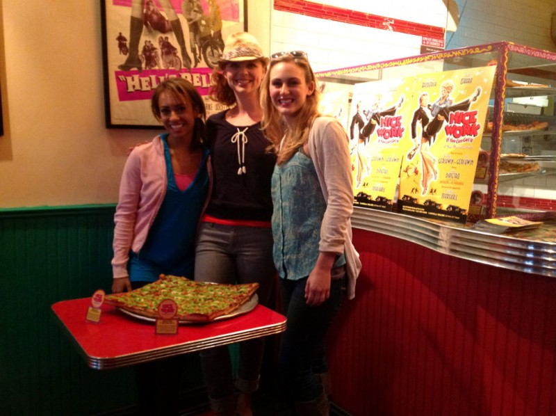 BWW Blog: Stephanie Martignetti of Broadway's NICE WORK IF YOU CAN GET IT - Mom and Pizza!