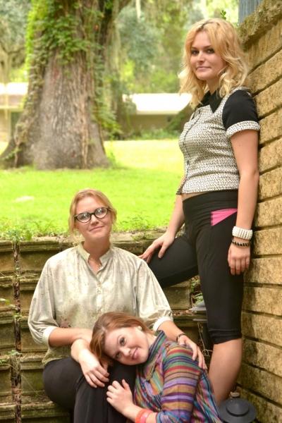 Denee Lortz, Leryn Turlington, Emily Ross