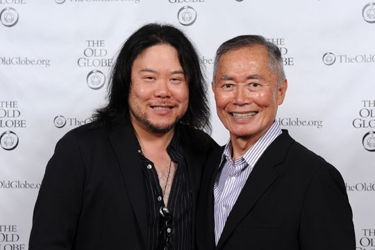 Stafford Arima and George Takei  at George Takei, Lea Salonga, Telly Leung and More in Opening Night of Old Globe's ALLEGIANCE!