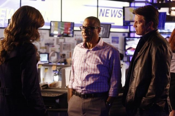 Photo Coverage: CASTLE on ABC October 1 - 'Cloudy with a Chance of Murder'