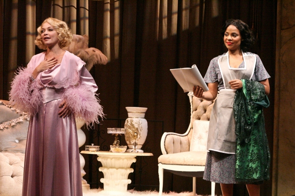 Amanda Detmer and Sanaa Lathan at Sanaa Lathan and More in Geffen Playhouse's BY THE WAY, MEET VERA STARK