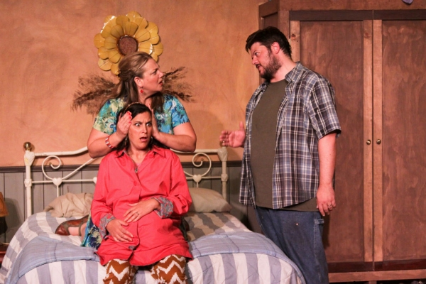 Photo Flash: First Look at Cinnabar Theater's WE WON'T PAY! WE WON'T PAY!